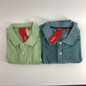 Lot of 2 NWT Izod Polo Shirts Size X-Large